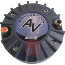 Driver American Vox 1 Av34 34mm 50watts 107db Titanio Rosca