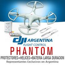 Helicoptero Dji Phantom Gps Drone Camara Go Pro Kit 2