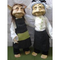 Duendes Cocineros!! Articulados!!