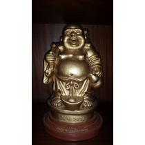 Buda De La Fortuna Adorno Feng-shui Pintado A Mano