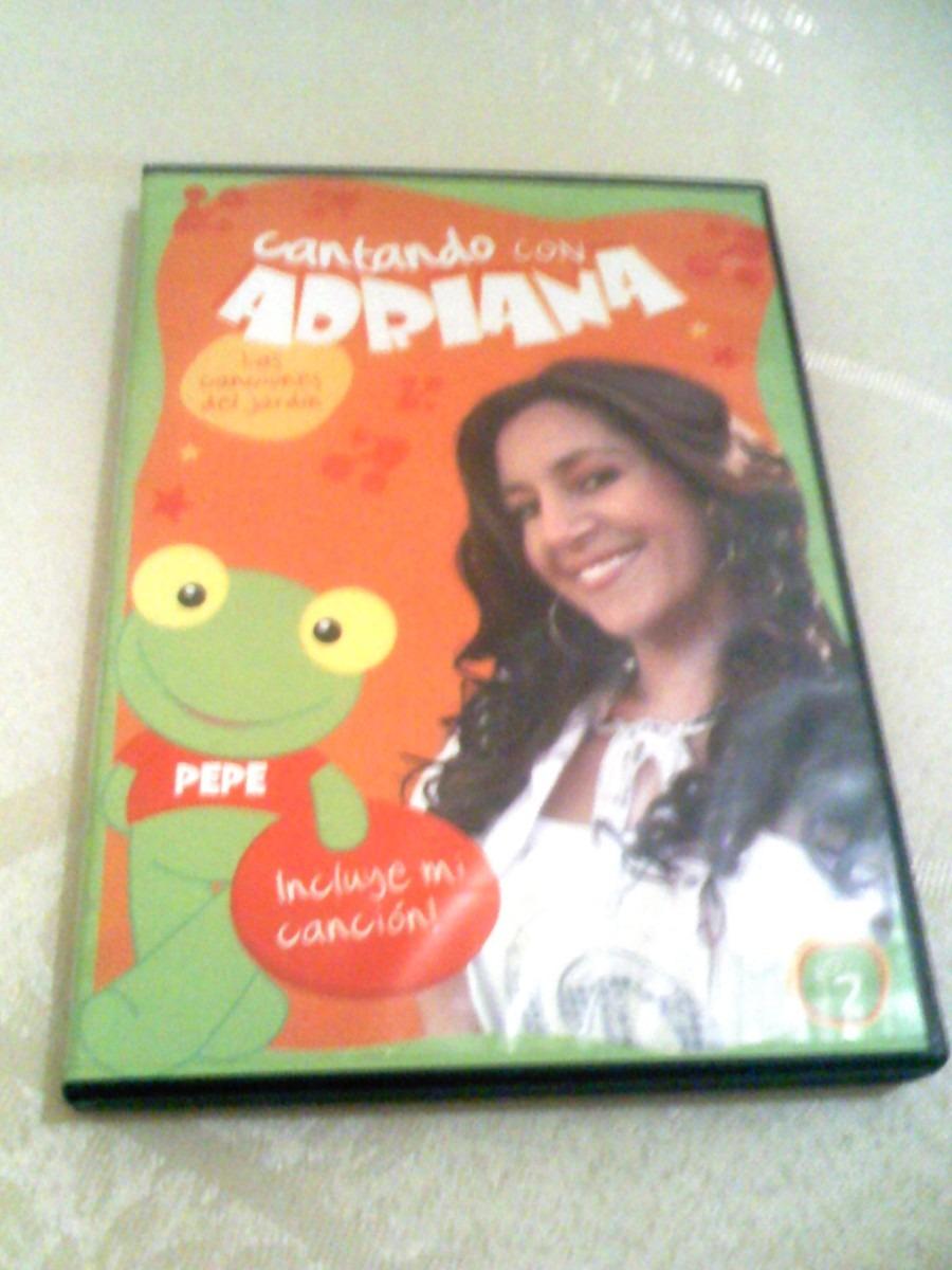 Cantando Con Adriana Dvd Dvd Cantando Con Adriana Las