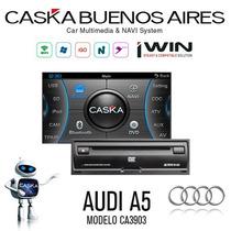 Estereo Audi A5 Caska Dvd Gps Ipod Mp3 Bluetooth Tpms Tv