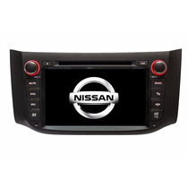 Stereo Multimedia Nissan Sentra New Dvd Gps Tv Cam Mp3 Cd