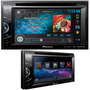 Stereo Pioneer Avh 2650 Bt Doble Din Usb Bluetooth Iphone