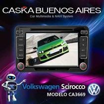 Estereo Dvd Caska Vw Volkswagen Scirocco Tpms Gps Ipod Mp3