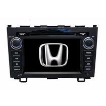 Stereo Multimedia Honda Crv 2006/11 Dvd Gps Bt Tv Mp3 Cam