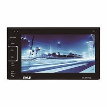 Estereo Doble Din Dvd Auto Tactil Bluetooth Plrnv63 Gps Mp3