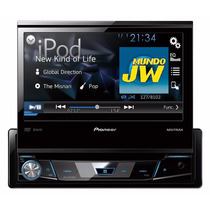 Stereo Pioneer Dvd Avh X 6750 Dvd Usb Cd Mp3 Sd Mixtrax Ipod
