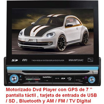 Estereo Dvd Gps Usb / Sd, Bluetooth Y Am / Fm / Tv Digital