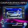 Stereo Dvd Volkswagen Sharan Caska Ipod Bluetooth Gps Mp3 Tv