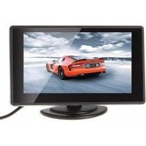 Monitor Auto Pantalla 4.3 Lcd 12v Retrovisora