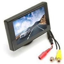 Monitor Pantalla 4.3 Lcd Auto 12v Para Camara Retrovisor