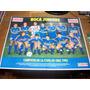 Poster De Futbol - Campeon De Copas Y Primera Division