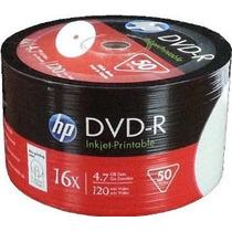Dvd Virgen Hp Fullprint Printables X50 Unidades Temperley