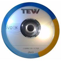 Dvd Dvd-r Tew X 100 Unidades