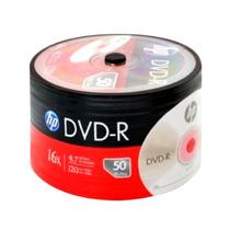 Dvd Hp Estampado Virgen X50 Unid. 4.7gb 120 Min. En Oferta!
