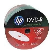 Dvd Hp -r Bulk Printable 50 Unidades