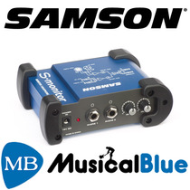 Monitor Headphone Amp. 2 Entradas Samson S-monit