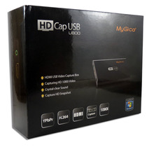 Capturadoa Mygica Hd U800 Hdmi Por Usb Full Hd 1080 Y Rca