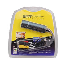 Easycap Capturadora Editora De Video Y Audio Externa Usb 2.0