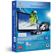 Pinnacle Studio 18 Para 64bits Con Efectos Full Son 14 Dvds