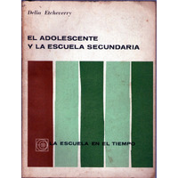 El Adolescente Y La Escuela Secundaria Delia Etcheverry