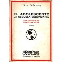 El Adolescente, La Escuela Secundaria - Pedagogos De América