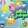 Juegos Educativos En Cd Infantiles Aqua Juegos En El Mar