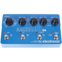 Pedal Tc Electronic Flashback X4 Delay Looper Para Guitarra