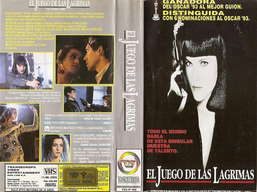 El Juego De Las Lagrimas Vhs The Crying Game 1992 Drama - $ 40,00 ...