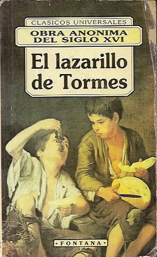 lazarillo novela: