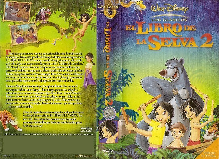el libro de la selva walt: