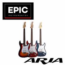 Aria Pro Ii Stratocaster Hss