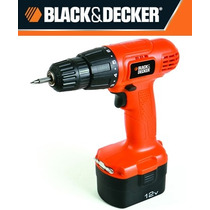 Taladro Atornillador Black & Decker Cd121k