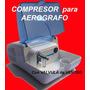 Compresor Aerografo + Valvula Venteo Automatica Nuevo Modelo