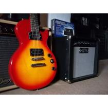 Epiphone Les Paul Special Con Pua Fender Squier Y Cable Sx