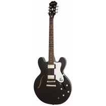 Guitarra Eléctrica Epiphone Es335 Dot Black Royale Lt Ed
