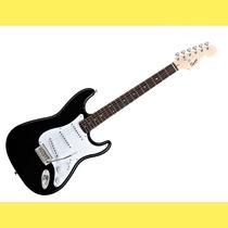 Guitarra Electrica Squier Stratocaster Bullet Black