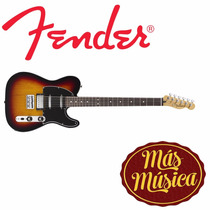 Guitarra Fender Tele Bari Blacktop Mex Sb 014-8700-500