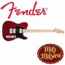 Guitarra Fender Tele Blacktop Mex Hh Car 014-8202-509