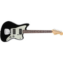 Fender Jazzmaster Blacktop Mexico Rwn, Hs, Black