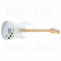 Oferta! Guitarra Fender Stratocaster Blacktop Mex Mn Hh Son
