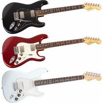 Guitarra Fender Stratocaster Mexico Modelo Blacktop, Unica!