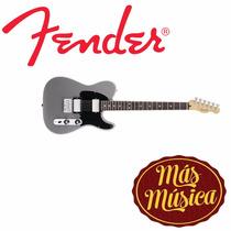 Guitarra Fender Tele Blacktop Mex Hh Silver 014-8200-591
