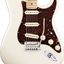 Guitarra Fender Stratocaster American Deluxe, Mn, Perla