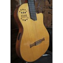 Guitarra La Alpujarra Alpumidi Tipo Godin Acs Sa Midi Stock!