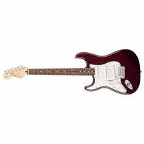Guitarra Fender Stratocaster Standard Mexico Zurda Sss Wine