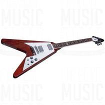 Guitarra Electrica Gibson Flying V 120 Heritage + Estuche