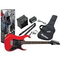 Ibanez Ijrg200 Combo Guitarra Elec+ampli+accs Audiomasmusica