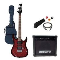 Guitarra Electrica Ibanez Grx 70 + Amplificador Y Accesorios